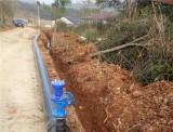 新干县麦斜农村安全饮水工程施工中